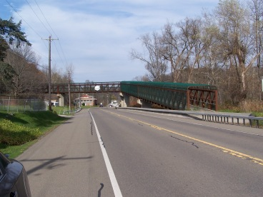 Catherine Valley Trail bridge over Route 14